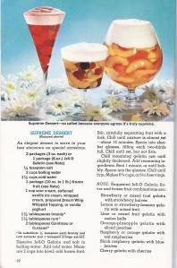 Vintage Jell-O Dessert