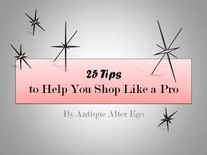 Shopping Tips, Antiques and Vintage, Antique Alter Ego