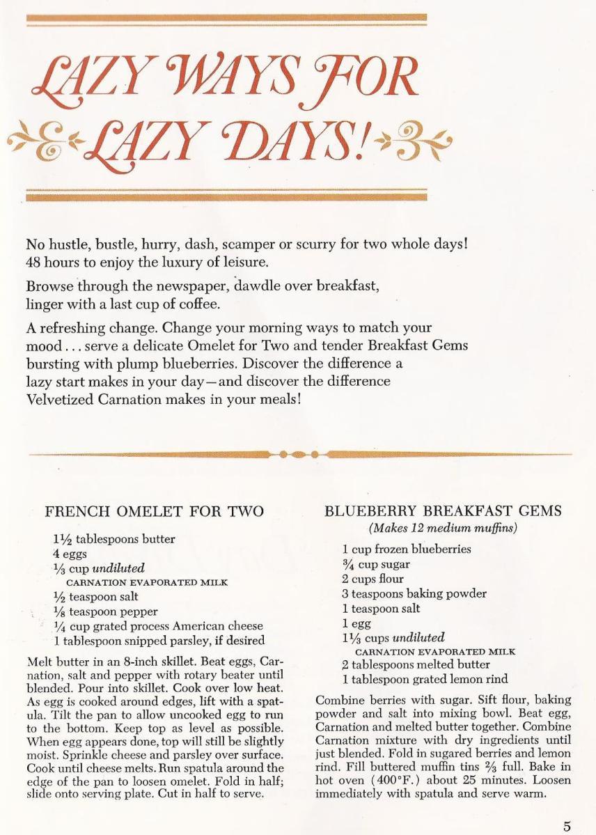 Vintage recipes Antique Alter Ego