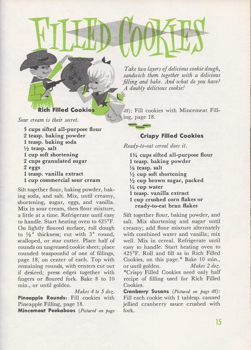 Vintage cookie recipes Antique Alter Ego