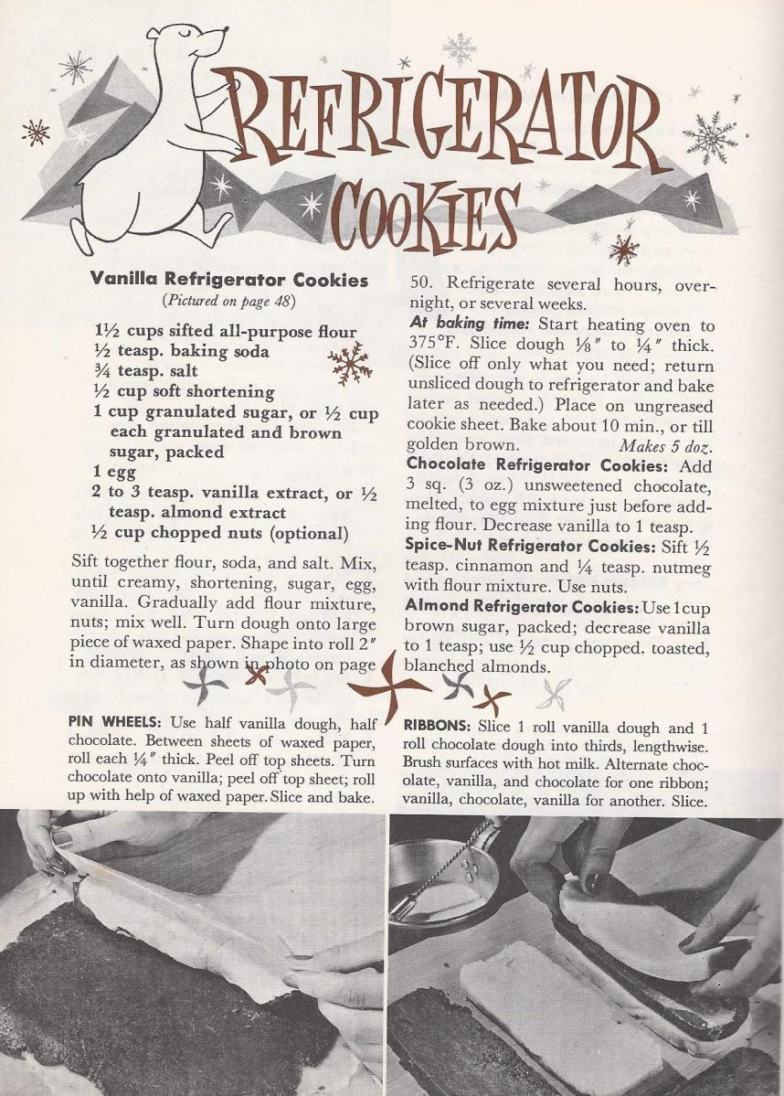 Vintage cookie recipes Antique Alter Ego