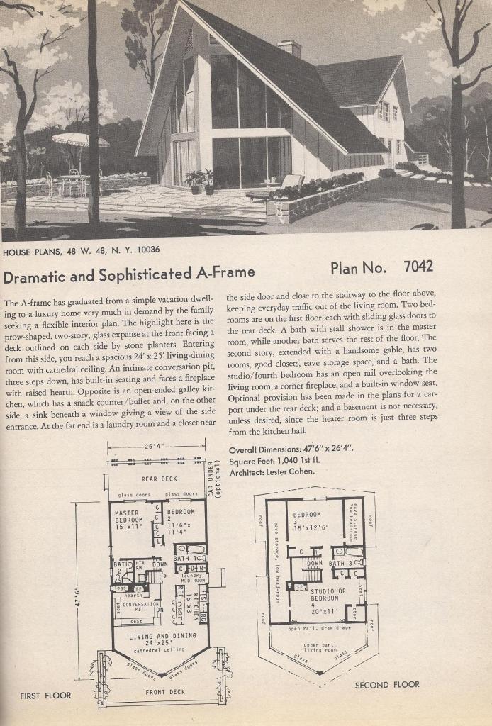 Mid Century Style Houses
