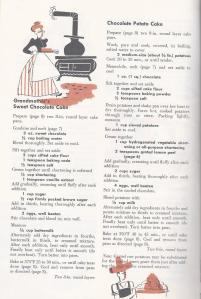 Vintage Chocolate Cake recipes