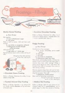 Vintage Frosting Recipes