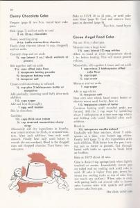 Vintage Chocolate Cake Recipe