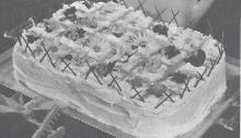 1954 Flower Garden Cake Recipe