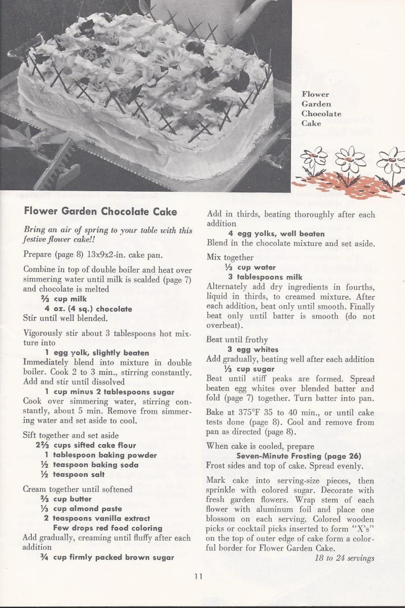 Vintage Chocolate Cake Recipe