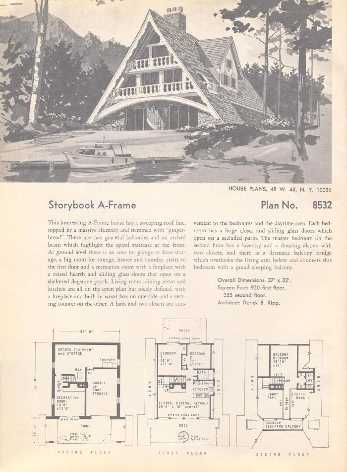Mid Century House Plans