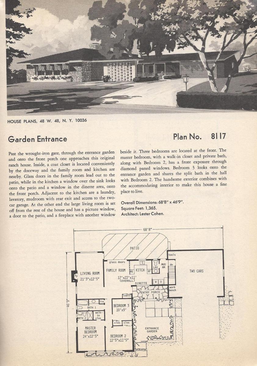 Vintage House Plans