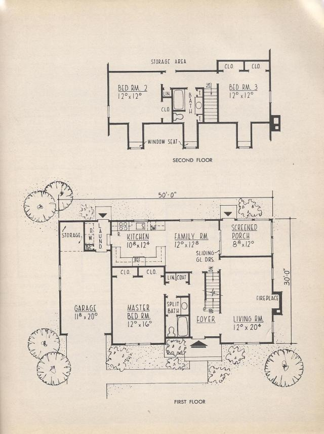 Vintage house plans new england bi level modern for Modern new england home plans