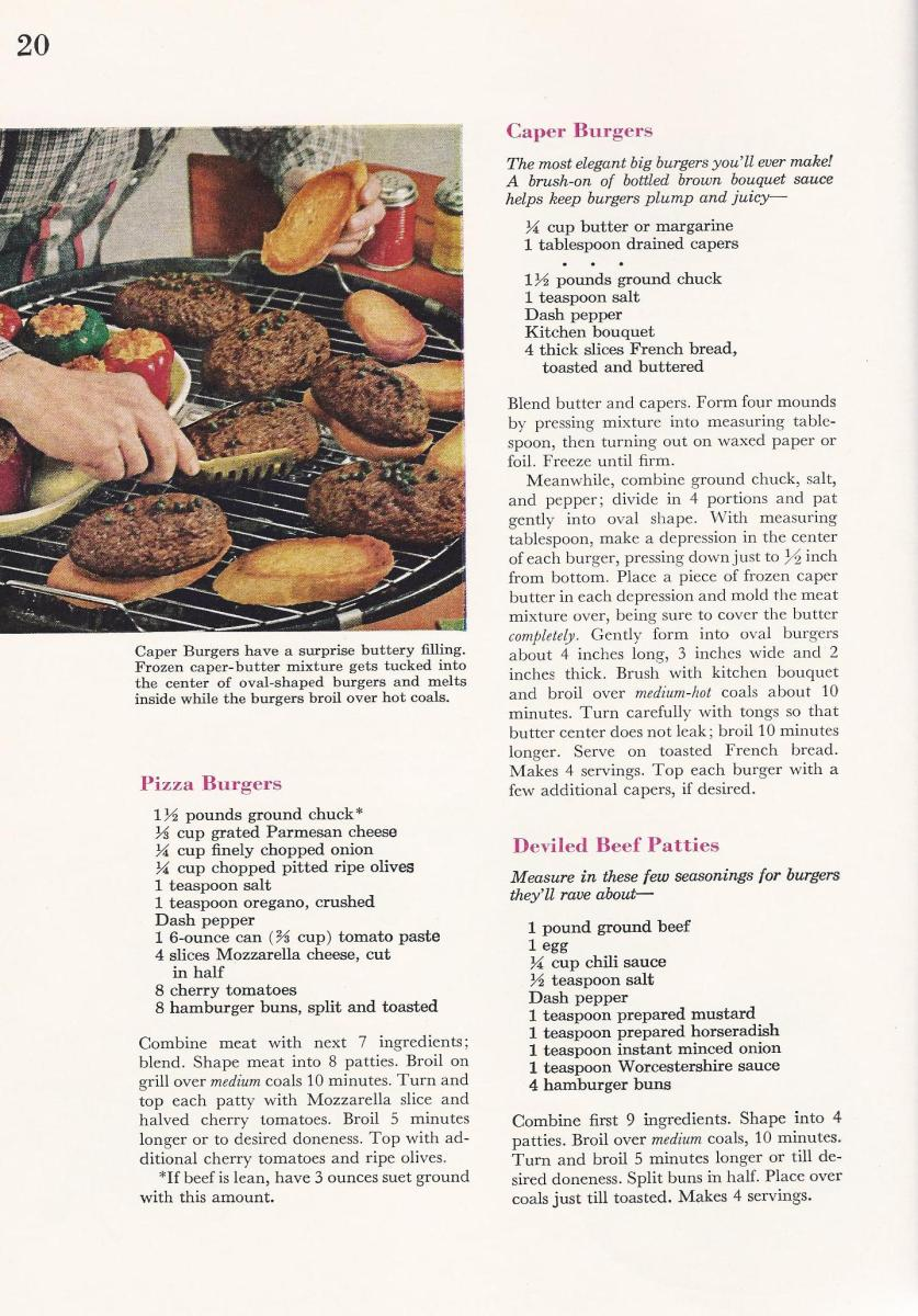 Vintage BBQ Barbecue Recipes