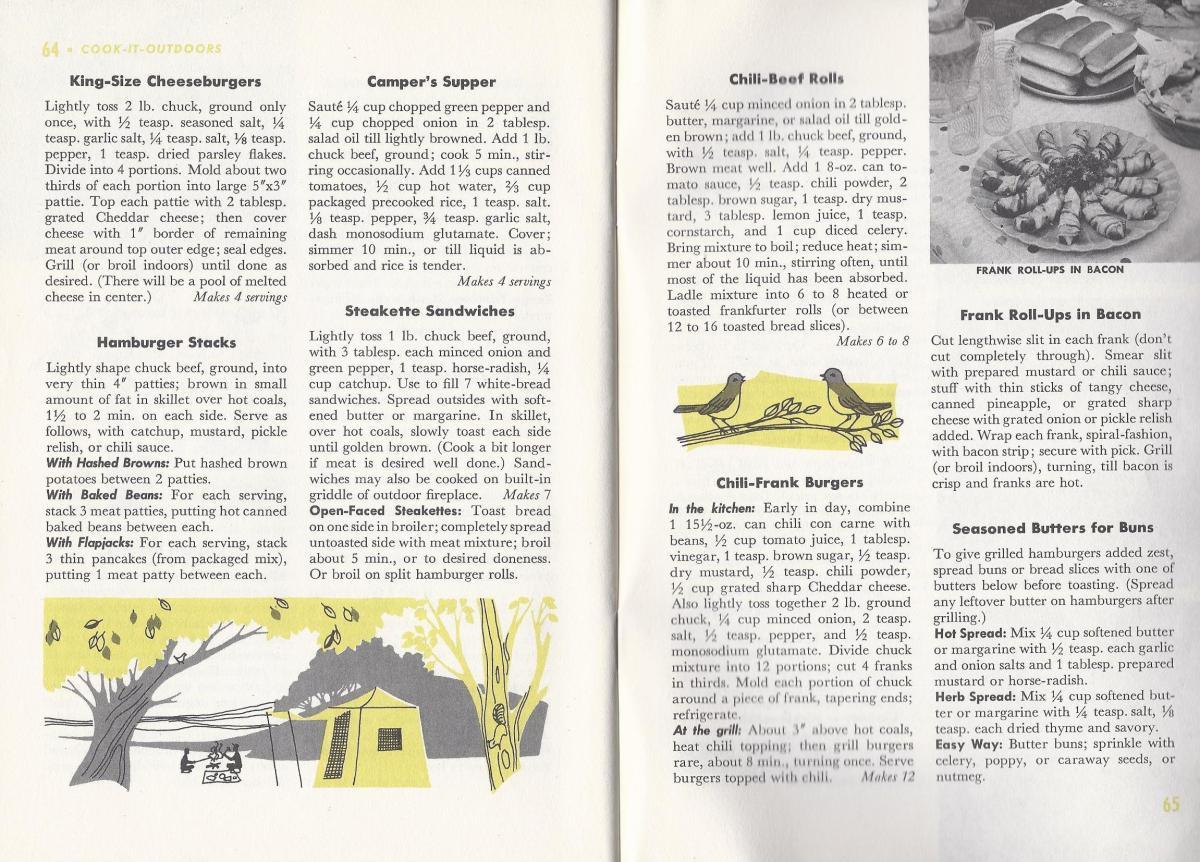 Vintage BBQ Recipes