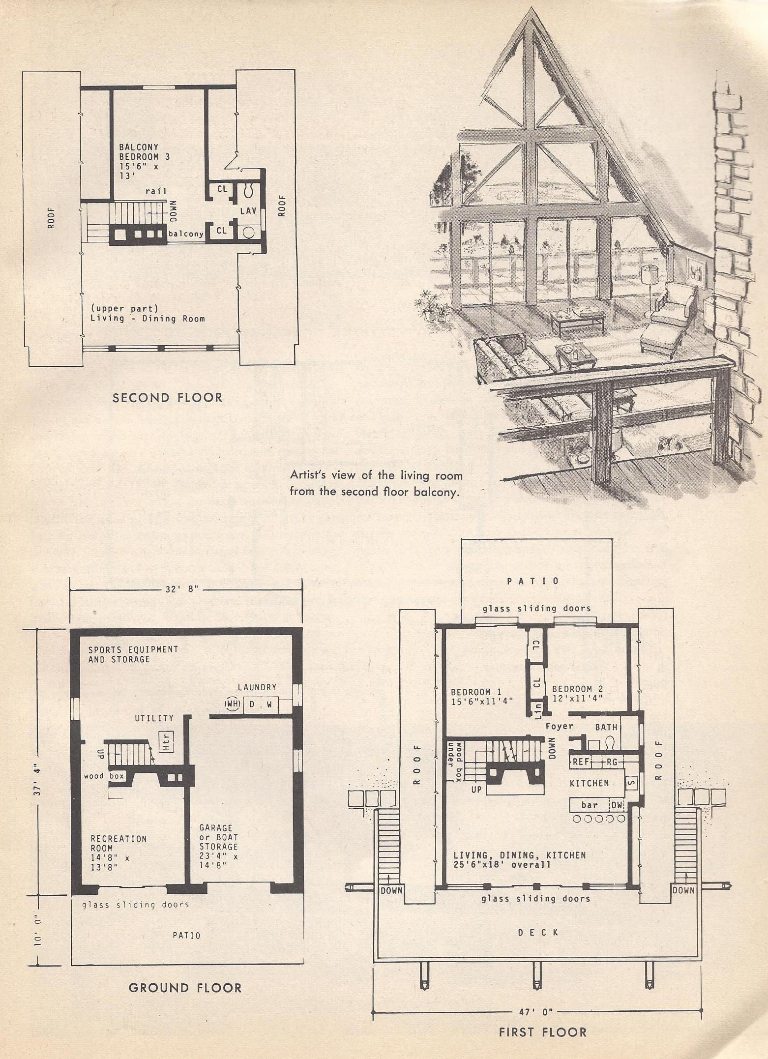 a frame split level house plans house list disign