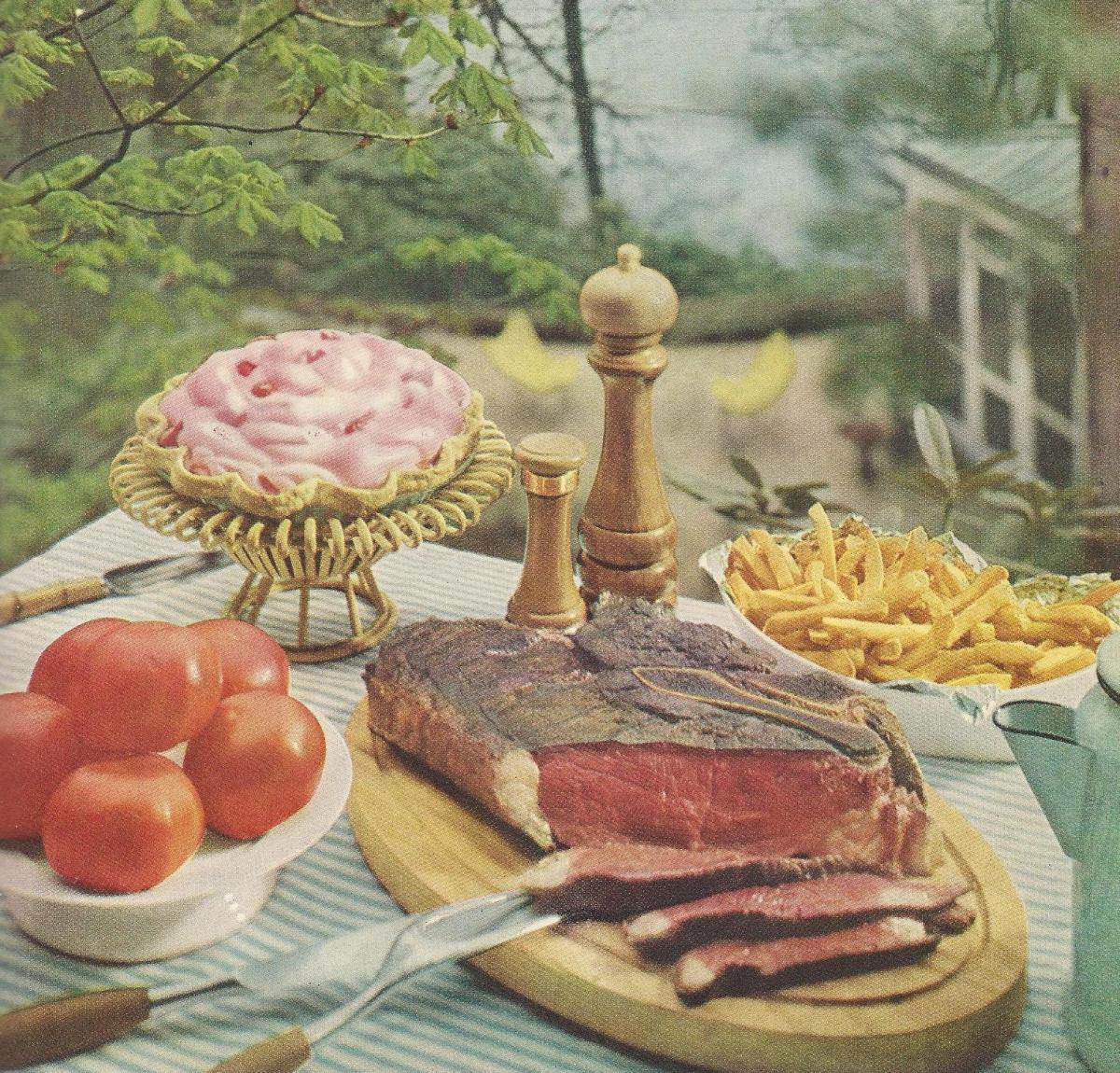 Vintage Recipes 57 Mid Century Outdoor Meals 1950s Style