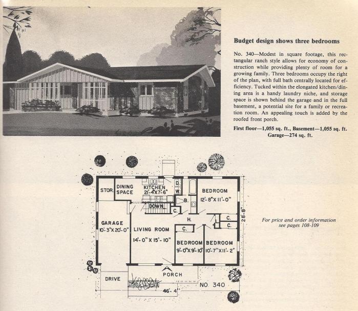 Vintage House Plans, Budget Design