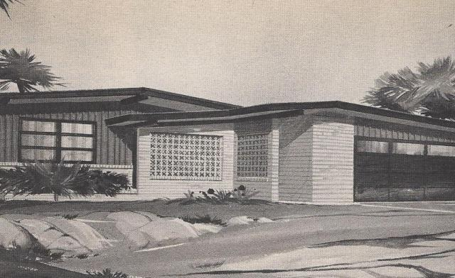Vintage house plans traditional mid sized ranch and for Vintage ranch house plans