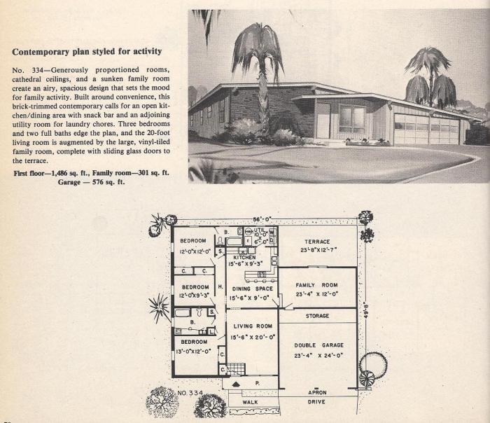 Vintage House Plans , Contemporary