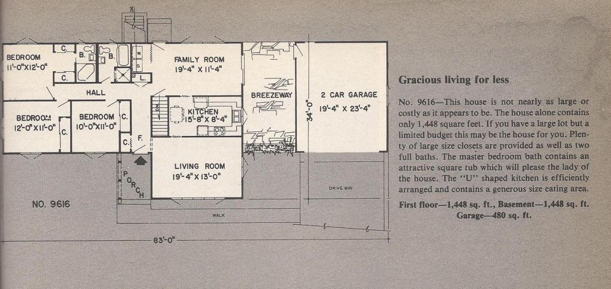 Vintage House Plans , Gracious Living