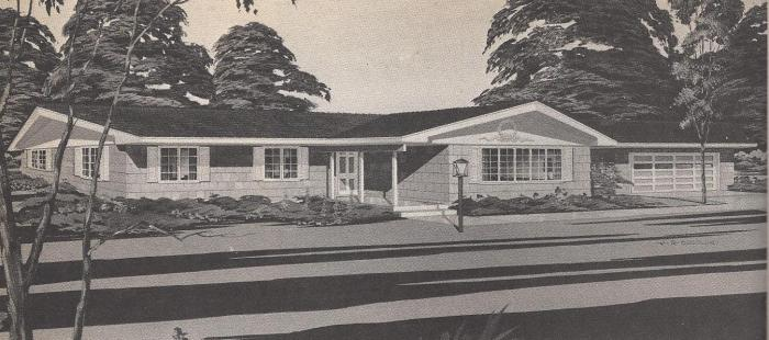 Vintage House Plans , Gracious Living