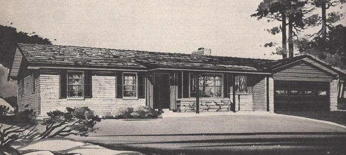 Vintage House Plans, Ranch