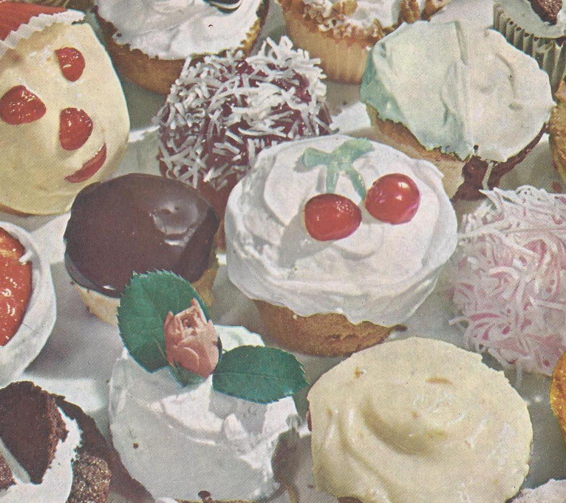 Vintage Recipes 150 Cakes Cupcakes And Frostings From 1958