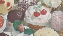 Vintage cake recipes, vintage cupcake recipes