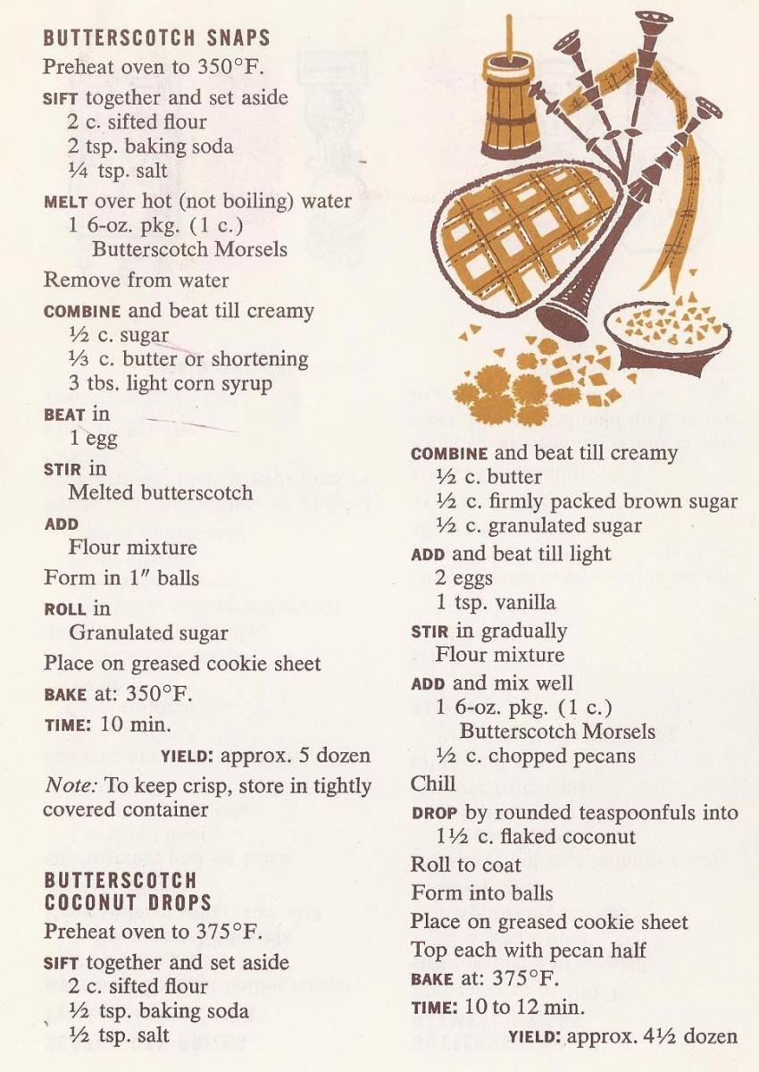 Vintage Cookie Recipes