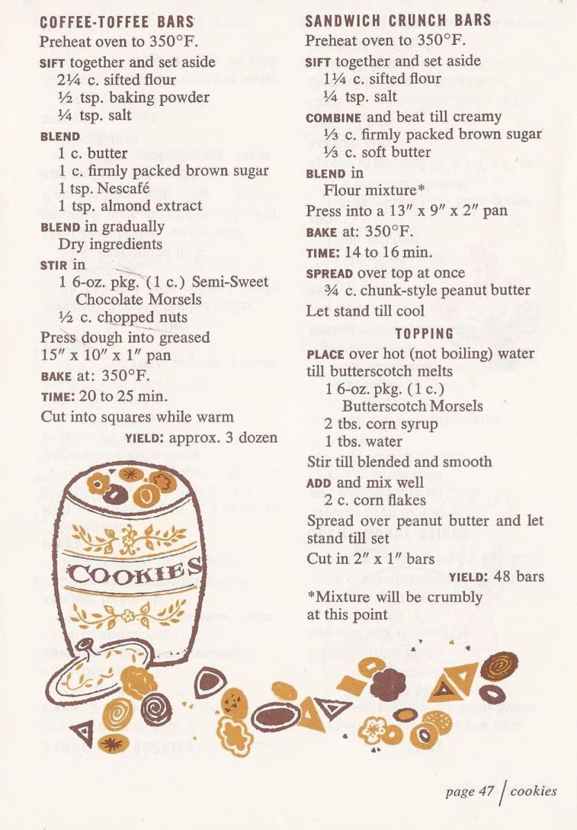 Vintage Cookie Recipes, Christmas Cookies