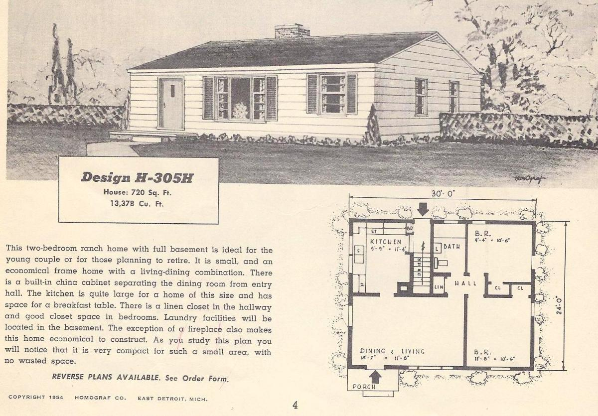 vintage house plans 305h antique alter ego