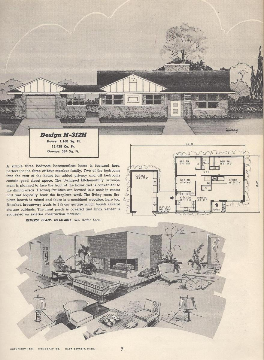 Vintage house plans 312h antique alter ego for Antique colonial house plans