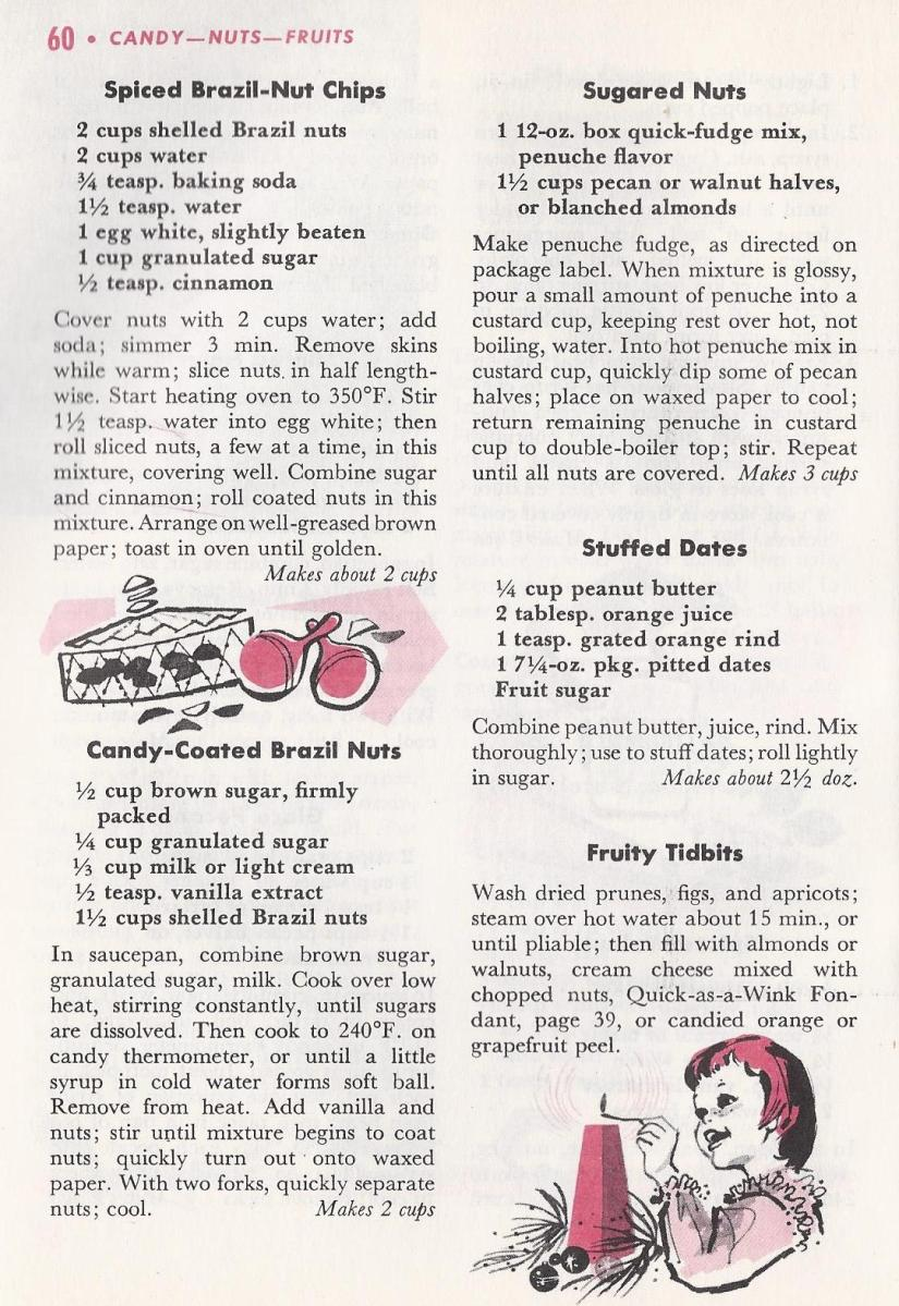 Vintage Christmas Recipes, Candy