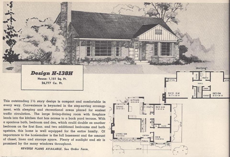 vintage house plans 138h antique alter ego