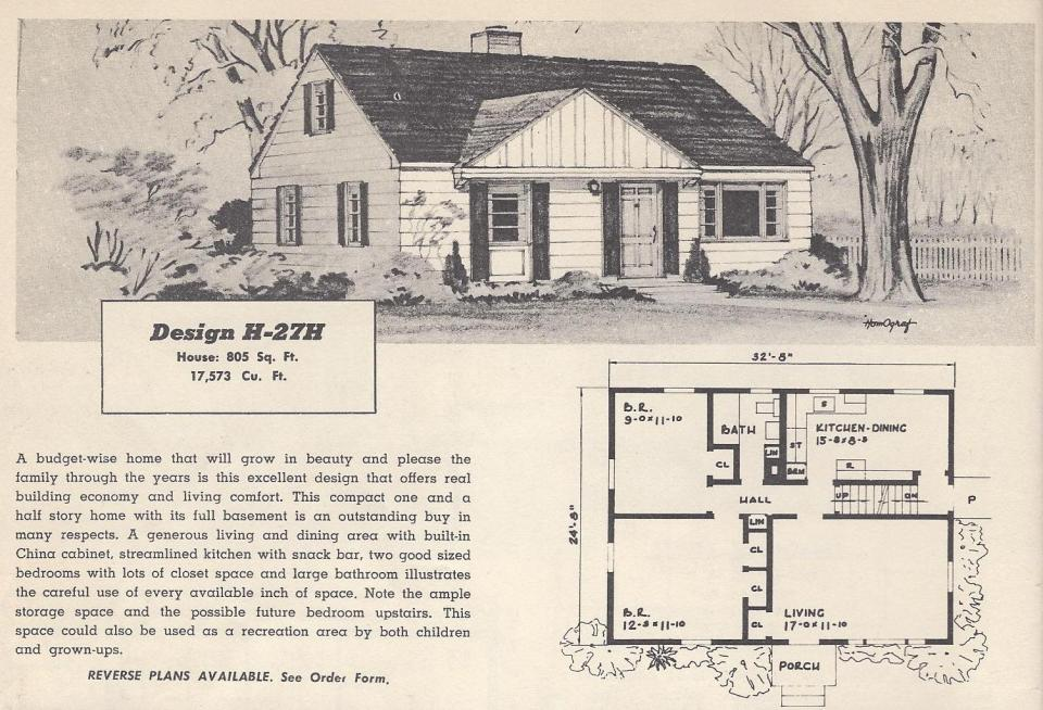 1950s Houses vintage1950s house plans ~ home design and furniture ideas