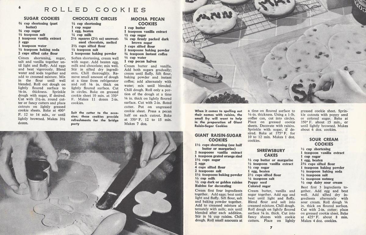 Vintage Christmas Cookie Recipes