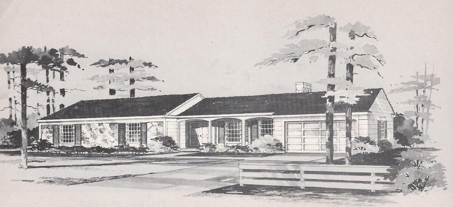 Vintage House Plans 1316 Antique Alter Ego