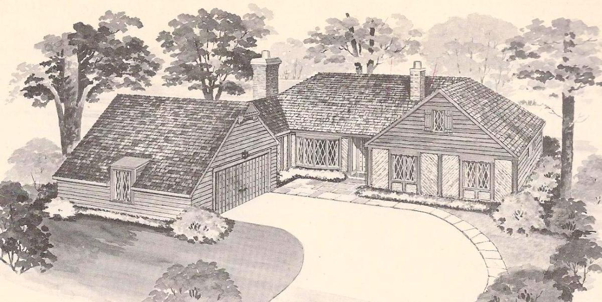 Colonial House Exterior