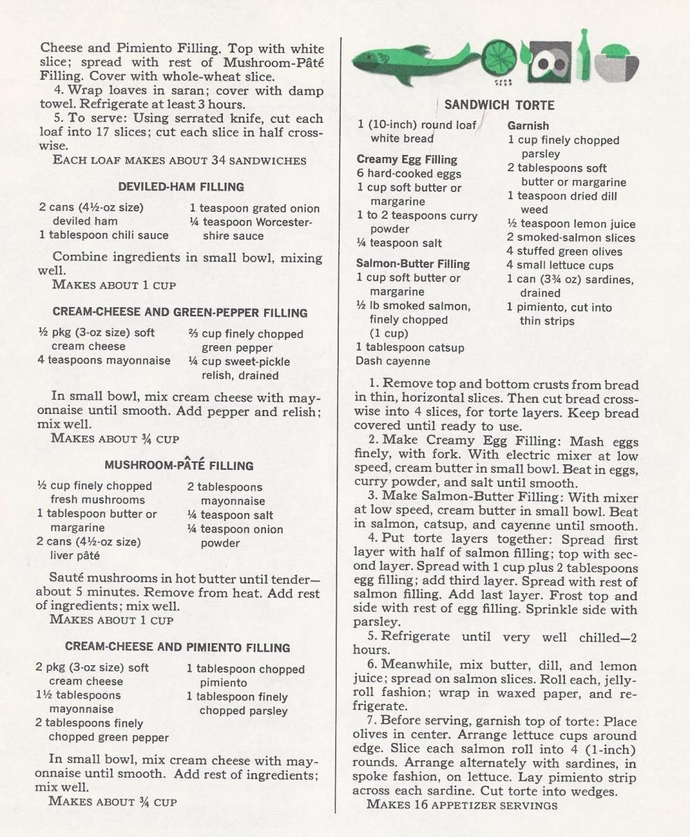 Vintage Recipes, Appetizers