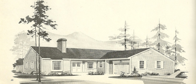 vintage house plans 1960s l shaped and t shaped homes