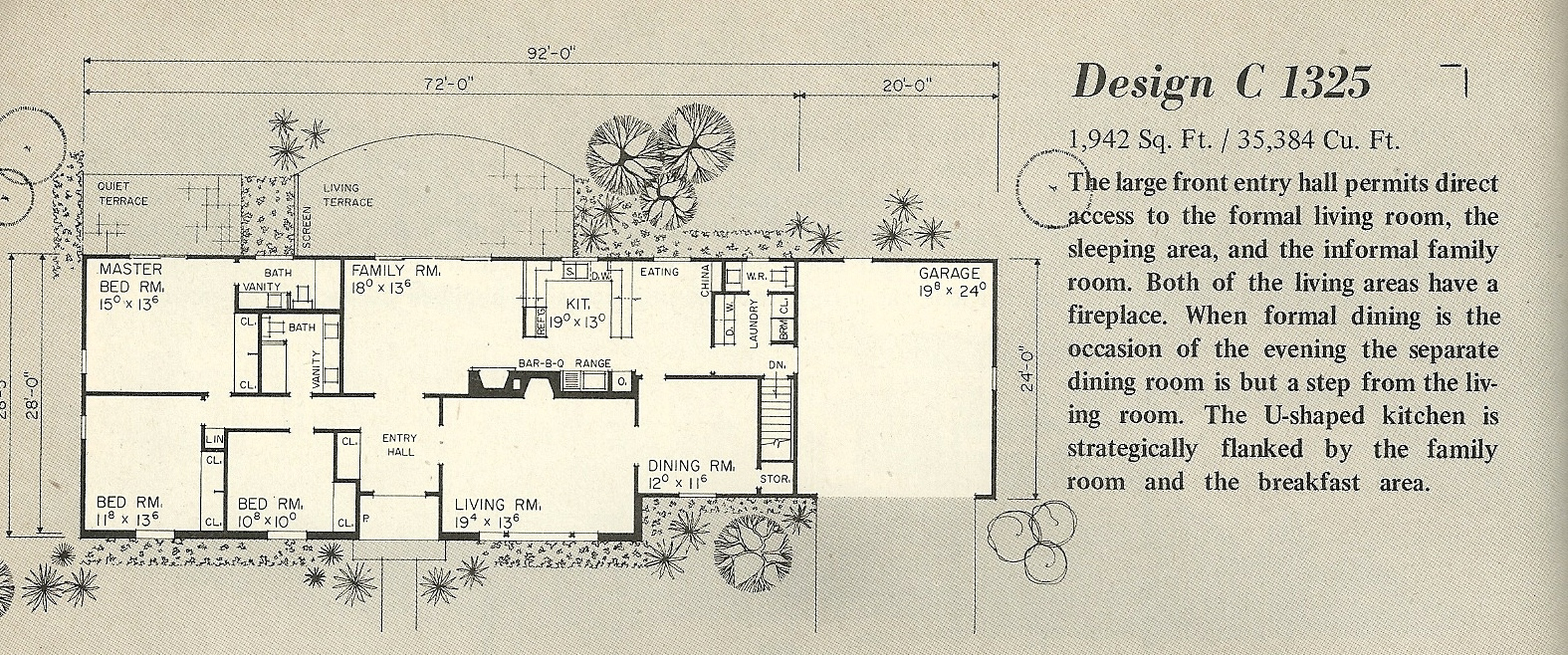 vintage house plans 1325a antique alter ego