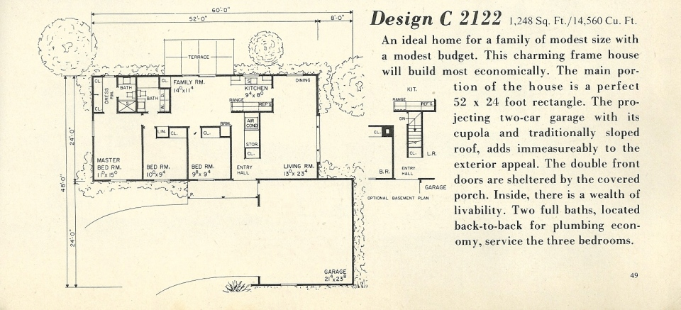 vintage house plans 2122a antique alter ego