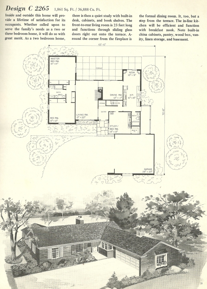 Vintage House Plans 2265 Antique Alter Ego