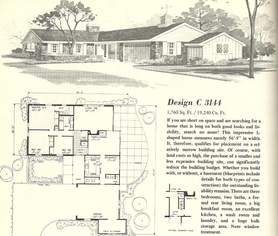 Vintage House Plans 3144 Antique Alter Ego