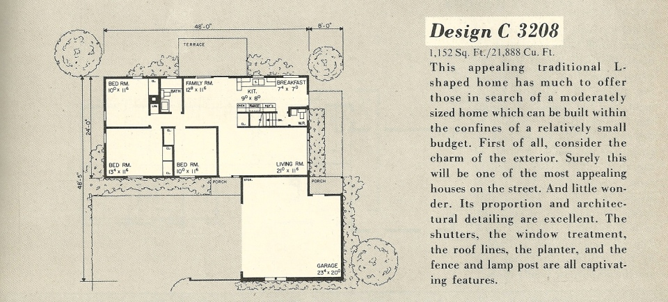 vintage house plans 3208a antique alter ego