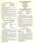 Vintage Recipes, 1960s recipes, dinner menus