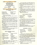 Vintage Recipes, 1960s recipes, dinner menus