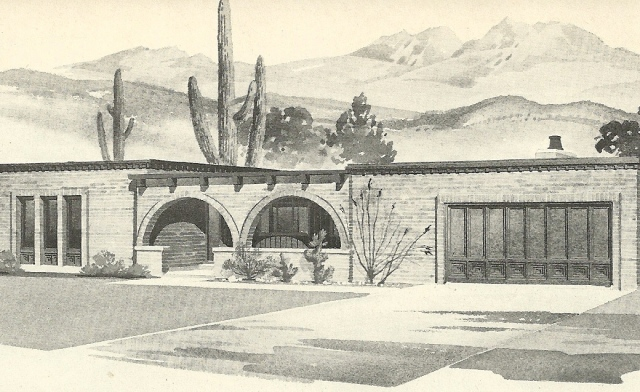 Mid Modern House Plans: Vintage House Plans 1960s: Spanish Style And Mid Century