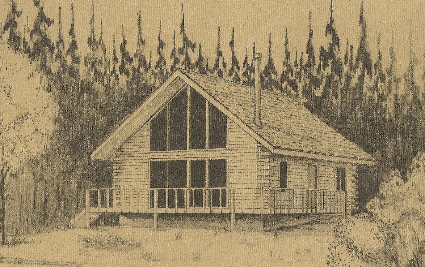 Vintage House Plans 1970s: Log Homes Antique Alter Ego. Full resolution  photo, nominally Width 1376 Height 863 pixels, photo with #8D713E.