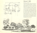 Vintage House Plans, Mid Century Homes, Vintage Homes