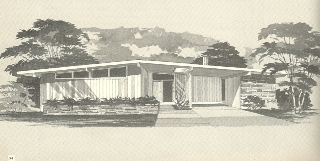 House Plans, 1960s Homes, Vintage House Plans