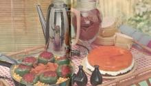 Vintage recipes, short cut recipes, 1950s